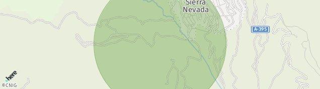 Mapa Sierra Nevada