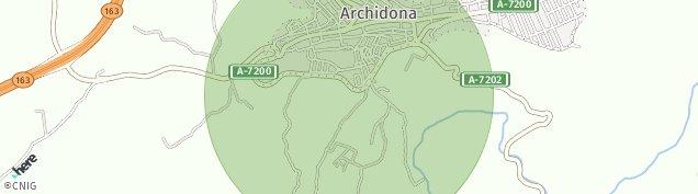 Mapa Archidona