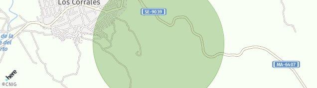 Mapa Los Corrales