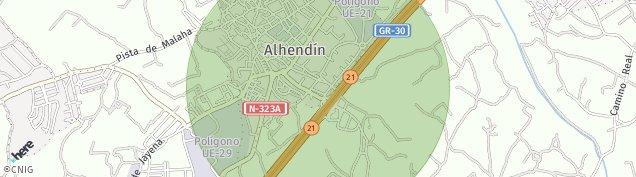 Mapa Alhendín