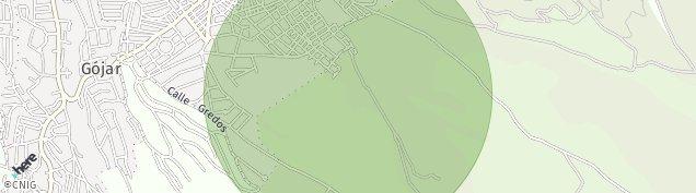 Mapa Gójar
