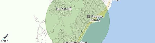 Mapa La Parata