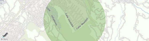 Mapa Barrio de Monachil