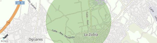 Mapa La Zubia