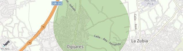 Mapa Ogíjares