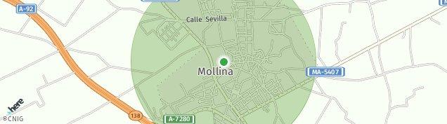 Mapa Mollina