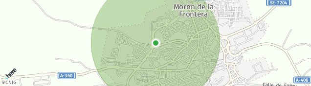 Mapa Morón de la Frontera