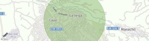 Mapa Barrio de La Vega