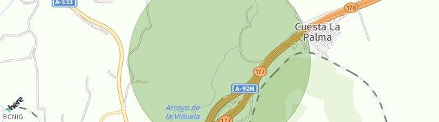 Mapa La Palma de Granada
