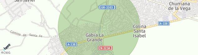 Mapa Gabia La Grande