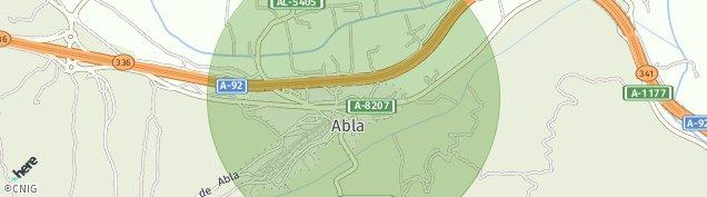 Mapa Abla