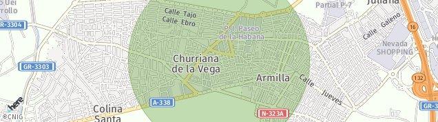 Mapa Churriana de la Vega