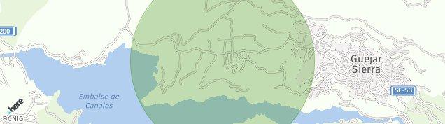 Mapa Güejar Sierra