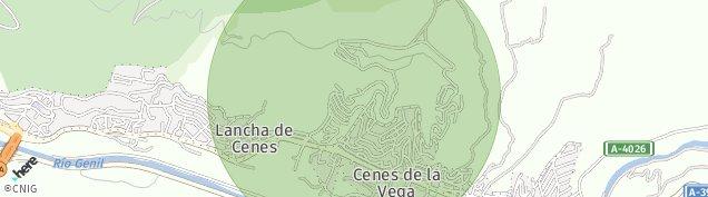 Mapa Cenes de la Vega