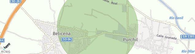 Mapa Belicena