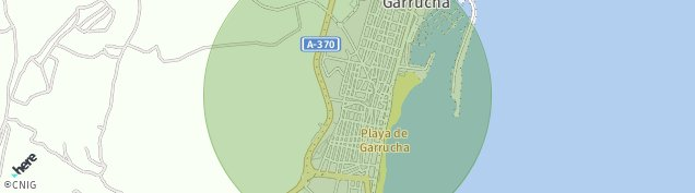 Mapa Garrucha