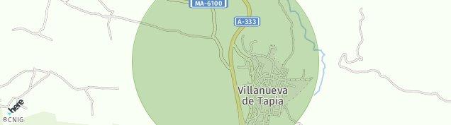 Mapa Villanueva de Tapia