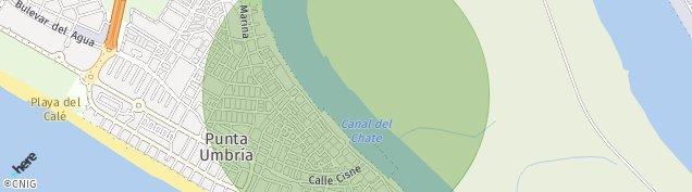 Mapa Punta Umbría