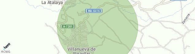 Mapa Villanueva de Algaidas