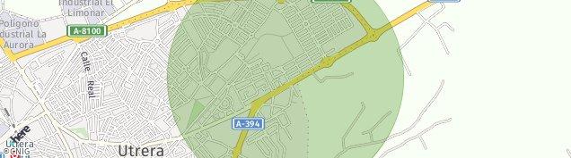 Mapa Utrera