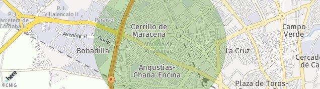 Mapa Granada