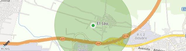 Mapa El Jau