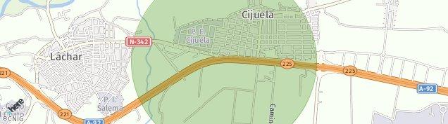 Mapa Cijuela