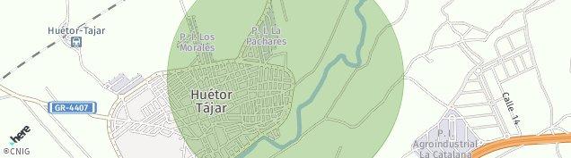Mapa Huétor Tájar