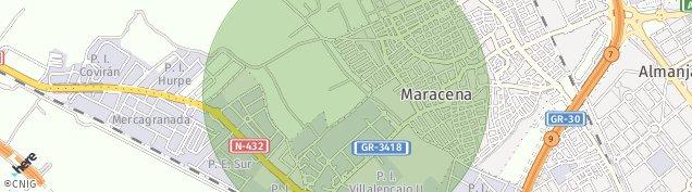 Mapa Maracena