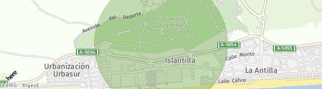 Mapa Islantilla