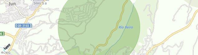 Mapa Alqueria del Fargue