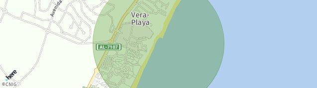 Mapa Vera-Playa