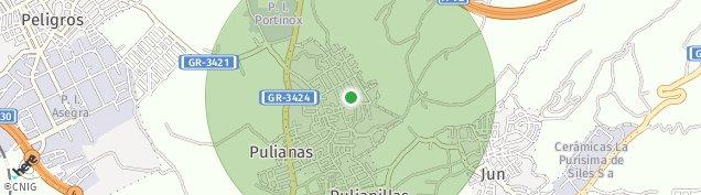 Mapa Pulianas