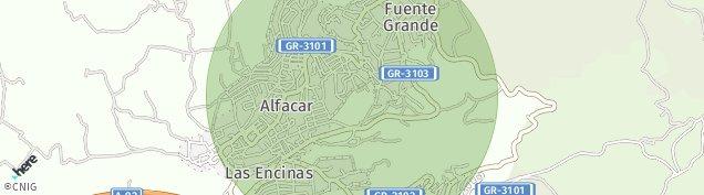 Mapa Alfacar