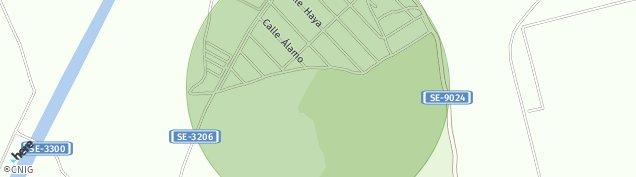 Mapa Carchena