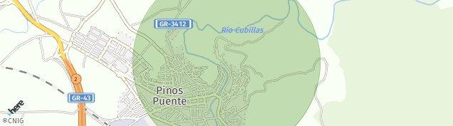Mapa Pinos Puente