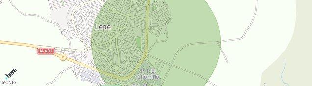 Mapa Lepe