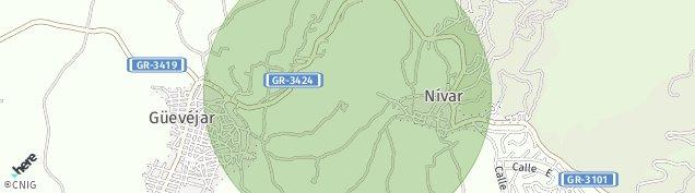 Mapa Nívar