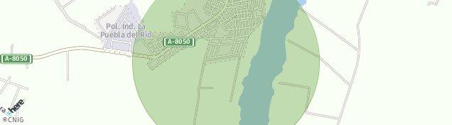 Mapa La Puebla del Río