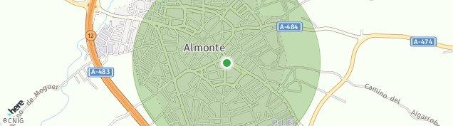 Mapa Almonte