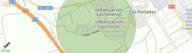 Mapa Dos Hermanas