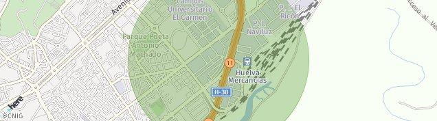 Mapa Huelva