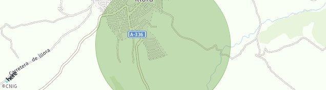 Mapa Illora