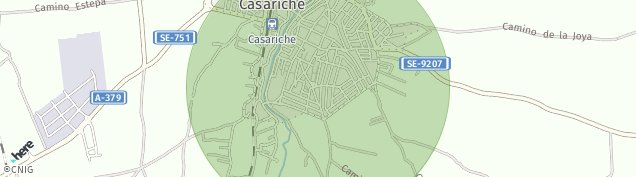 Mapa Casariche