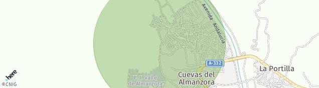Mapa Cuevas del Almanzora