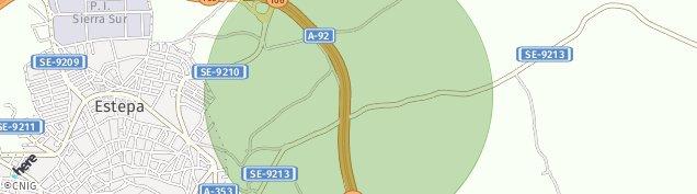 Mapa Estepa