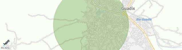 Mapa Guadix