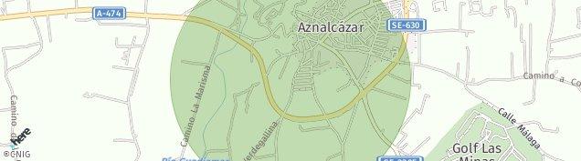 Mapa Aznalcázar