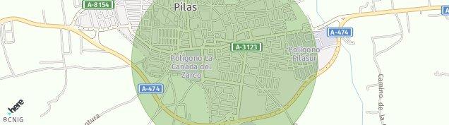Mapa Pilas