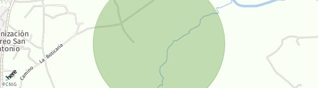 Mapa Gandul-Marchenilla